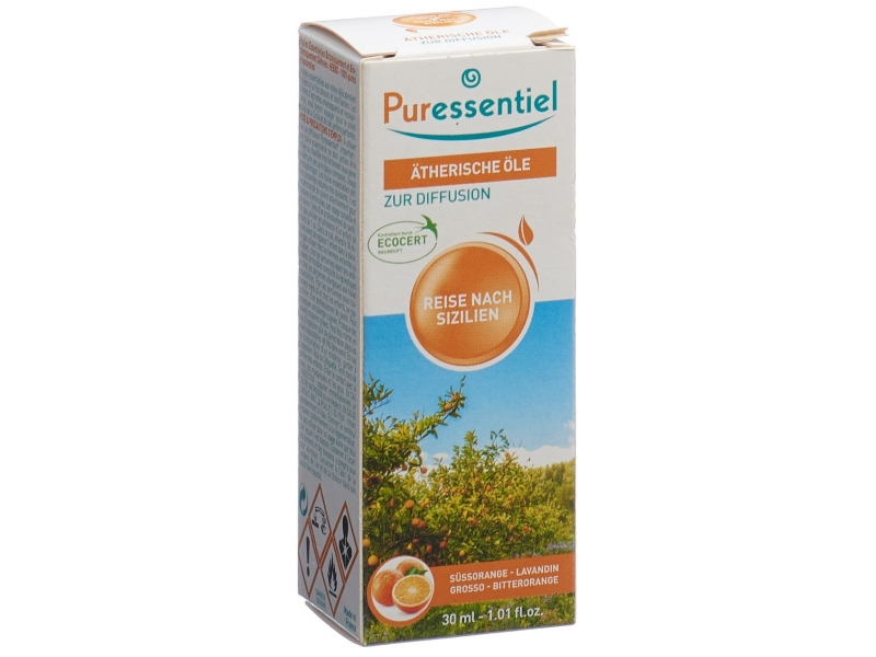 PURESSENTIEL diffuse voyage sic huil ess 30ml